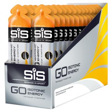 SiS Go Isotonic Energy Gels, энергетический гель (упаковка 30*60 мл), Тропические фрукты