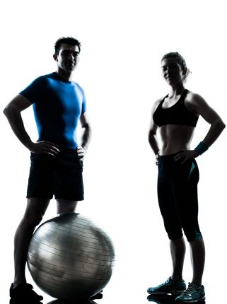 silhouette-of-personal-training