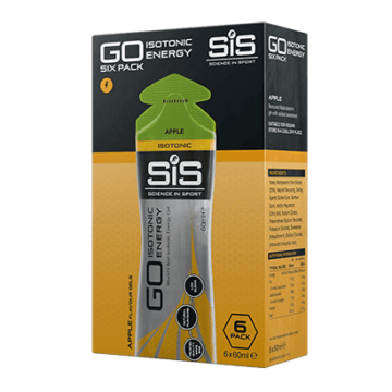 SiS Go Isotonic Energy Gel 6 шт 60 мл Яблоко