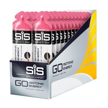 SiS Go Isotonic Energy Gel 30 шт 60 мл Розовый грейпфрут
