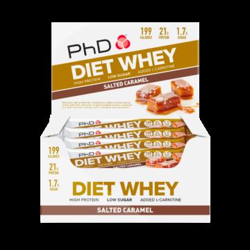 PhD DietWheyBar, Солёная карамель (Упаковка 12 шт)