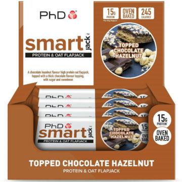 PhD SmartJack Bar 12 шт 60 г Шоколад/фундук