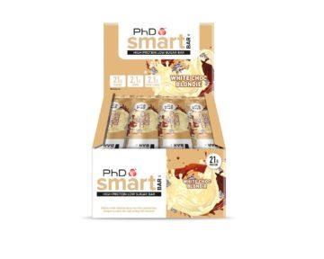PhD Smart Bar 12 шт 64 г Белый шоколад