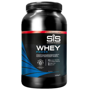 SiS Whey Power 1 кг Клубника со сливками