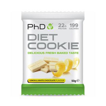 PhD Diet Cookie 50 г Лимон/Белый Шоколад