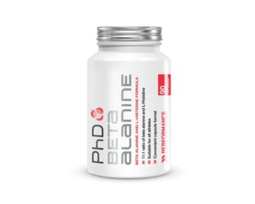 PhD Beta Alanine, 90 капсул