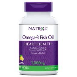 Natrol Omega-3 Fish Oil 1000mg 150 caps