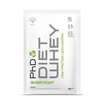 Протеиновая смесь PhD Diet Whey 50 г клубника